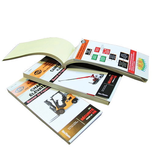 Specialised booklets, tags, labels, stickers