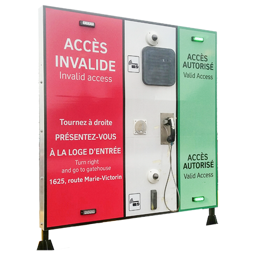 Integrated Access Signage Systems