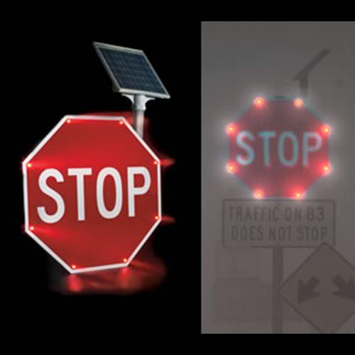Automatic Flashing Signage